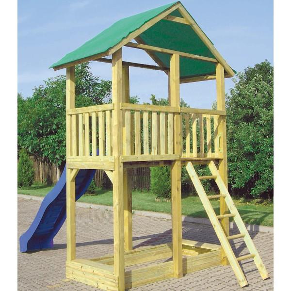 Wieżyczka dla dziecie w ogrodzie