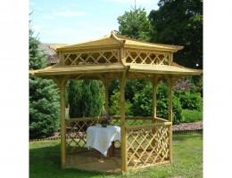 Mała altanka ogrodowa - Pagoda