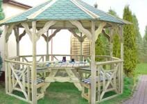 Otwarta altana ogrodowa - Gerda zestaw E