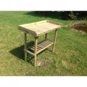 Stolik ogrodowy z półką 108cm x 52cm x 98cm wys.