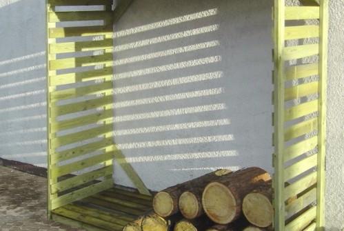 Drewutnia ogrodowa wys.190cm x gł.70cm x szer.180cm