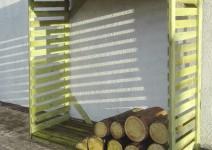 Drewutnia ogrodowa wys.190cm x gł.70cm x szer.120cm