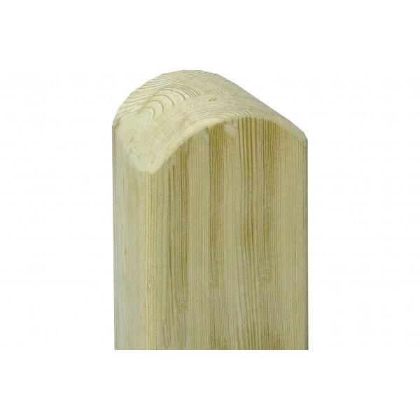 Kantówka z zaokrągloną główką (świerk)